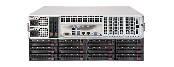 NAP-9100 背面