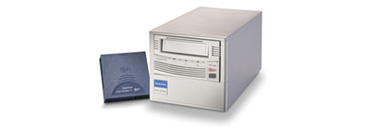 Quantum製 SuperDLT600 シングルテープ装置