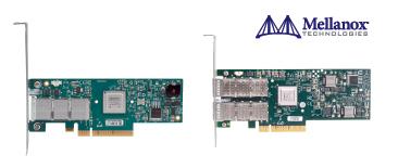 Mellanox製 InfiniBandホストチャネルアダプタ(ConnectX-2)